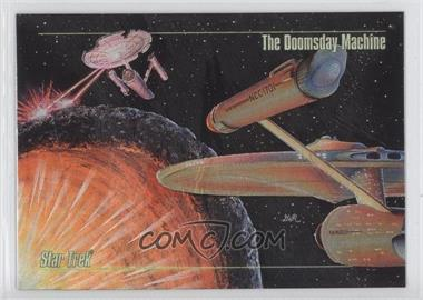 1993 SkyBox Master Series Star Trek Spectra #S-5 - [Missing]