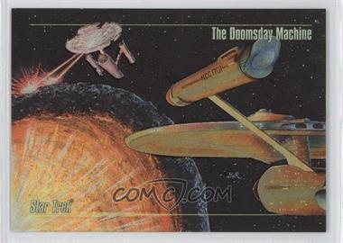 1993 SkyBox Master Series Star Trek Spectra #S-5 - The Doomsday Machine