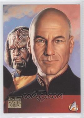 1993 SkyBox Master Series Star Trek #4 - [Missing]