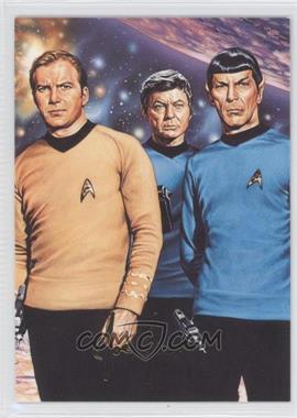 1993 SkyBox Master Series Star Trek #F2 - [Missing]