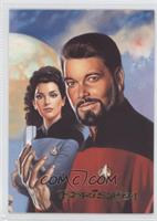 Commander William Riker, Deanna Troi