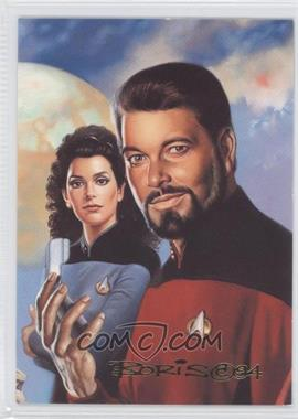 1993 SkyBox Master Series Star Trek #F5 - [Missing]