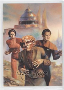 1993 SkyBox Master Series Star Trek #F8 - The Crew of Deep Space Nine