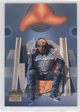 1993 SkyBox Master Series Star Trek #S2 - Gowron