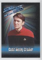 Cadet Wesley Crusher