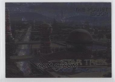 1993 SkyBox Star Trek Deep Space Nine - Spectra #SP1 - The Planet Bajor