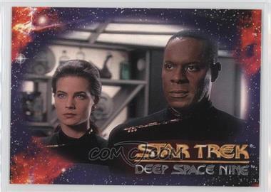 1993 SkyBox Star Trek Deep Space Nine Prototype #N/A - Header (Commander Benjamin Sisko)