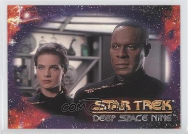 1993 SkyBox Star Trek Deep Space Nine Prototype #N/A - Header (Commander Benjamin Sisko)