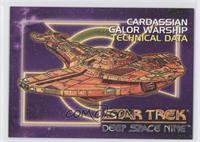 Cardassian Galor Warship Technical Data
