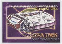 U.S.S. Saratoga Escape Pod Technical Data