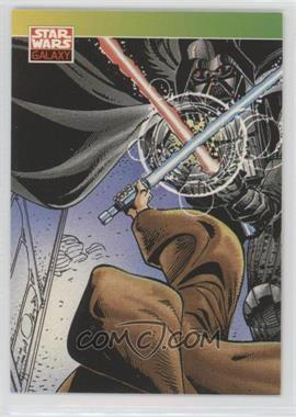 1993 Topps Star Wars Galaxy - [Base] #124 - New Visions - Darth Vader, Obi-Wan Kenobi
