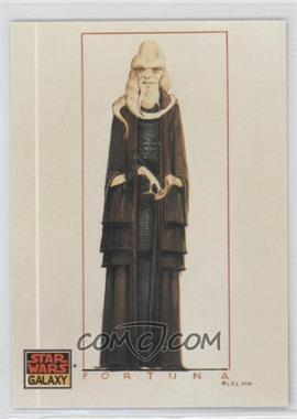 1993 Topps Star Wars Galaxy - [Base] #37 - The Design of Star Wars - Bib Fortuna