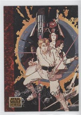 1993 Topps Star Wars Galaxy - [Base] #48 - the Art of Star Wars - Cartoonist Howard Chaykin
