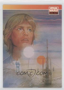 1993 Topps Star Wars Galaxy - [Base] #86 - New Visions - Paul Chadwick