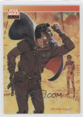 1993 Topps Star Wars Galaxy - [Base] #92 - New Visions - George Evans