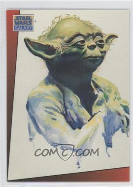1993 Topps Star Wars Galaxy Series 1 #10 - Yoda