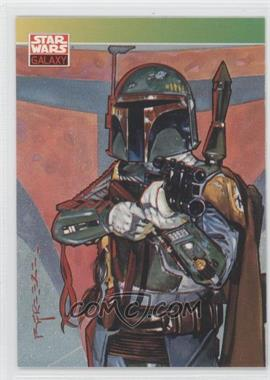 1993 Topps Star Wars Galaxy Series 1 #127 - [Missing]