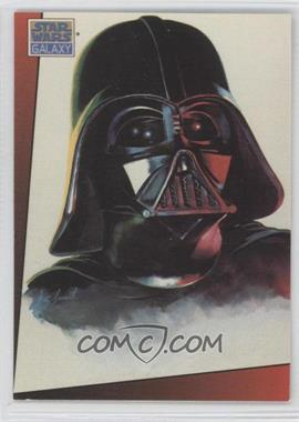 1993 Topps Star Wars Galaxy Series 1 #4 - Darth Vader