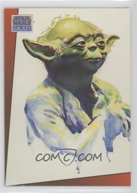 1993 Topps Star Wars Galaxy #10 - Yoda