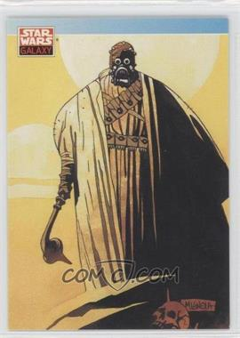 1993 Topps Star Wars Galaxy #110 - Michael Mignola