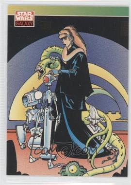 1993 Topps Star Wars Galaxy #121 - New Visions - P. Craig Russell