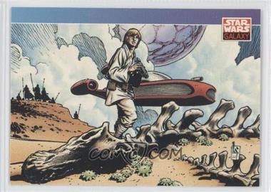 1993 Topps Star Wars Galaxy #122 - [Missing]