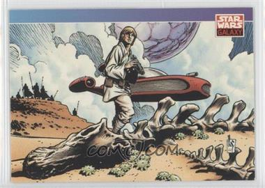 1993 Topps Star Wars Galaxy #122 - New Visions - Mark Schultz