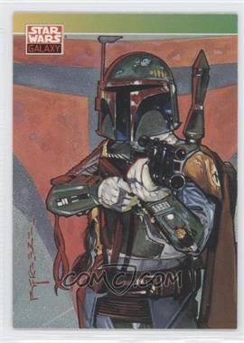 1993 Topps Star Wars Galaxy #127 - Boba Fett