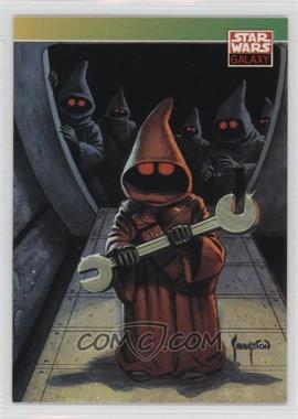 1993 Topps Star Wars Galaxy #130 - New Visions - Greg Theakston