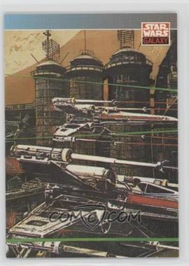 1993 Topps Star Wars Galaxy #133 - New Visions - John Van Fleet