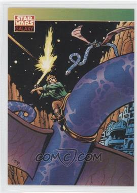 1993 Topps Star Wars Galaxy #138 - New Visions - Thomas Wm. Yeates II