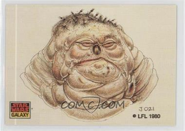 1993 Topps Star Wars Galaxy #33 - The Design of Star Wars - Bad Hair Day?