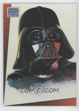1993 Topps Star Wars Galaxy #4 - Darth Vader