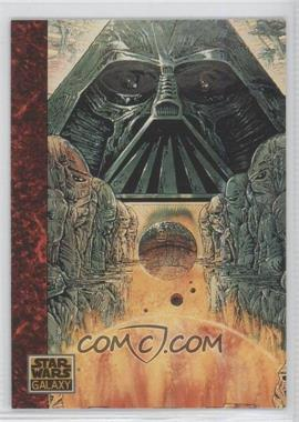 1993 Topps Star Wars Galaxy #57 - the Art of Star Wars - Highly Stylized
