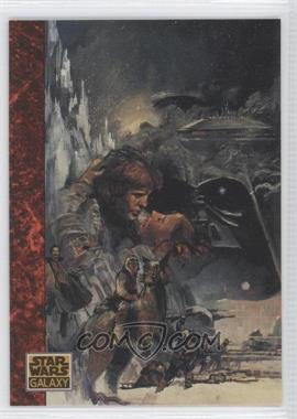 1993 Topps Star Wars Galaxy #67 - The Mountain...