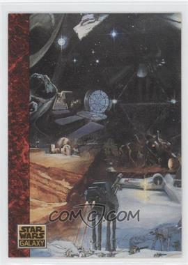 1993 Topps Star Wars Galaxy #69 - the Art of Star Wars - A Pastiche