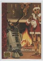 the Art of Star Wars - Santa Threepio