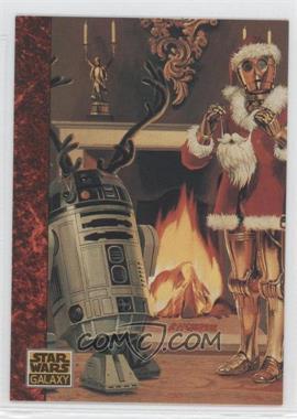 1993 Topps Star Wars Galaxy #77 - the Art of Star Wars - Santa Threepio