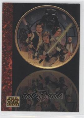 1993 Topps Star Wars Galaxy #79 - the Art of Star Wars - Thomas Blackshear