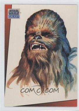 1993 Topps Star Wars Galaxy #8 - Chewbacca