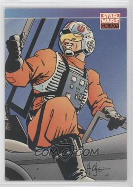 1993 Topps Star Wars Galaxy #87 - New Visions - Howard Chaykin