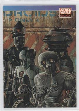 1993 Topps Star Wars Galaxy #91 - New Visions - Dave Dorman