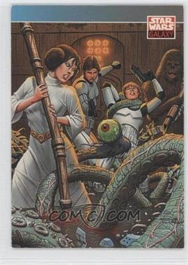 1993 Topps Star Wars Galaxy #93 - New Visions - Fastner & Larson