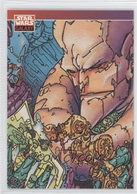 1993 Topps Star Wars Galaxy #94 - New Visions - Keith Giffen