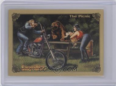 1994 Collect-A-Card Easyriders - [???] #36 - The Picnic