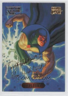 1994 Fleer Marvel Masterpieces - [Base] - Gold Foil Signature Series #132 - Vision