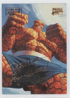 1994 Fleer Marvel Masterpieces Gold Foil Signature Series #123 - [Missing]