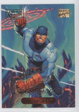 1994 Fleer Marvel Masterpieces Gold Foil Signature Series #129 - U.S. Agent
