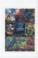 Angel, Magneto, Beast, Storm, Wolverine, X-Men: Gold Team