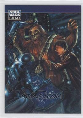 1994 Topps Star Wars Galaxy Series 2 - Promos #P5 - Han Solo, Chewbacca